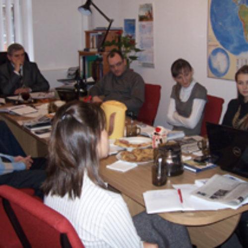 Відбулась робоча зустріч редакторів та журналістів Церкви ХВЄУ