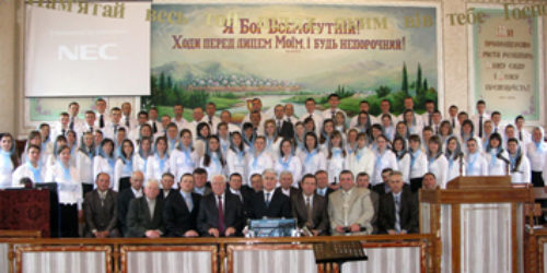 Ювілейне богослужіння у древньому Володимирі