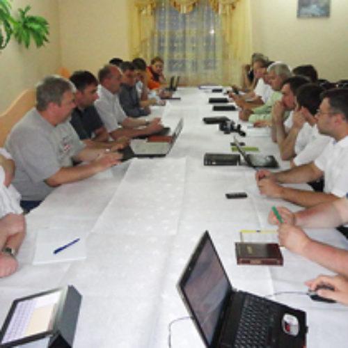 Робоча зустріч працівників відділу освіти