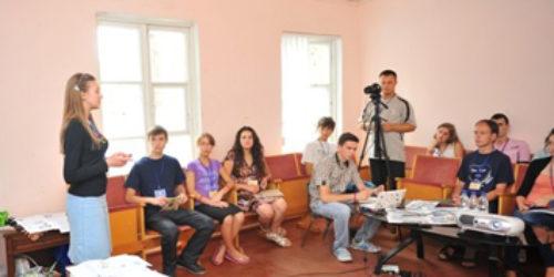 Прес-служба Малинфесту-2012 провела практичні семінари з журналістики та PR