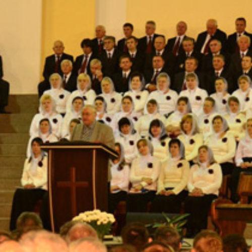 Международный конгресс Христиан Веры Евангельской открыт!