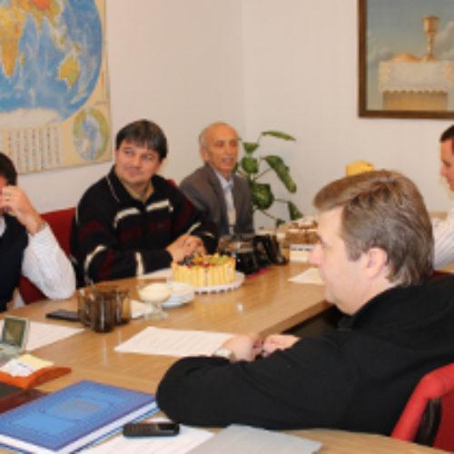 Київські пастори обговорили життя церков та плани на поточний місяць