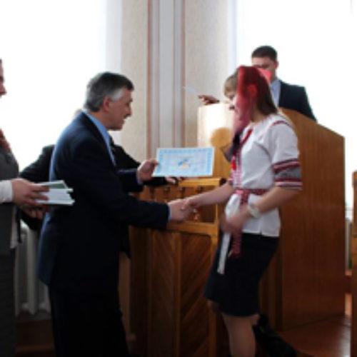 Вручення сертифікатів в Зарічному