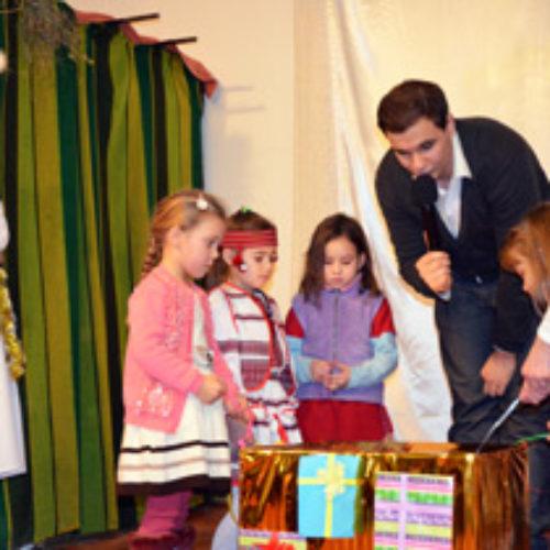 На Різдво церкви ХВЄ по всій країні влаштували незабутні свята для дітей у тому числі із зони АТО та дітей військових