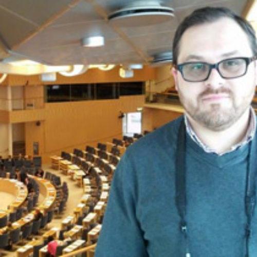 У рамках підготовки до відкриття Міжнародної місіонерської школи її координатор Антон Кукса відвідав Швецію