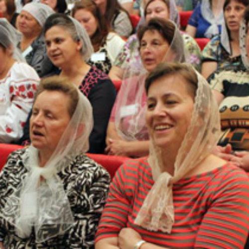 Учасниці Всеукраїнської жіночої конференції ЦХВЄУ звернулися до Президента з проханням оголосити День всенародного покаяння