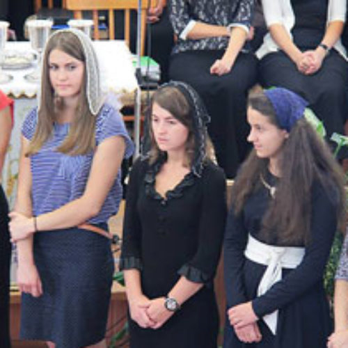 Новий набір місіонерської школи «Ковчег спасіння»