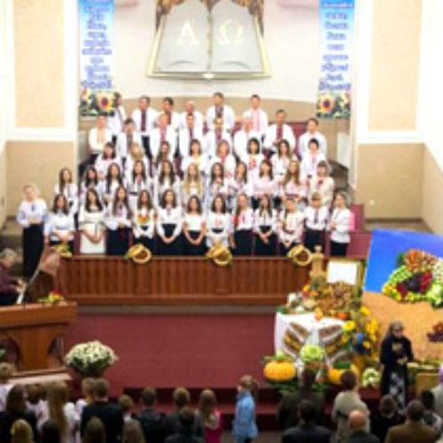 День подяки Богові святкували у центрі Івано-Франківська