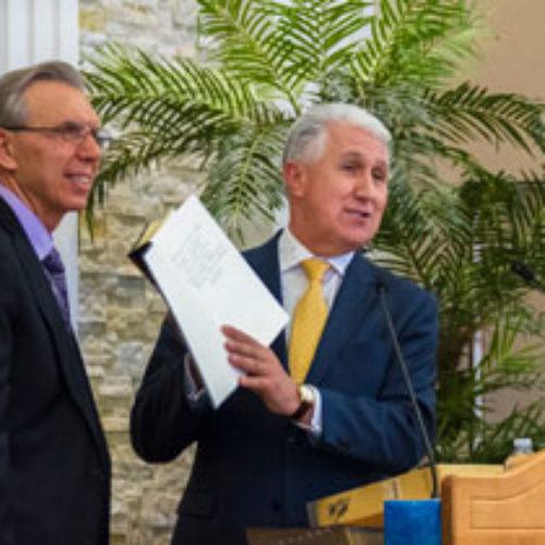 Михайло Паночко взяв участь у посвяченні молитовного будинку у місті Торонто (Канада)