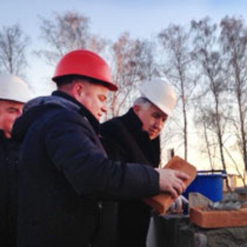 На житловому масиві «Львівський маєток» закладено перші цеглини нового Дому молитви