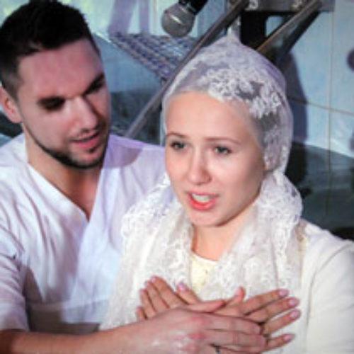 Майже півсотні нових членів церков  ХВЄ Києва прийняли водне хрещення 19 січня (ФОТО)