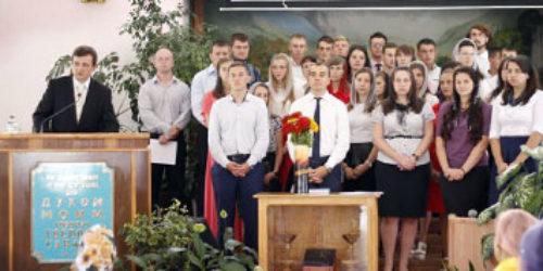 У місіонерській школі «Ковчег Спасіння» – нова група