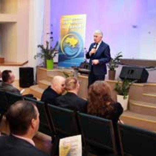Оргкомітет Національного дня молитви за Україну презентував програму цьогорічного молитовного форуму