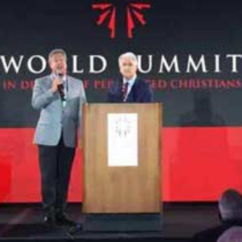 Михайло Паночко виступив на Всесвітньому саміті на захист переслідуваних християн