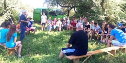 Табір для підлітків в Олешках