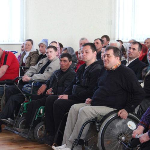 На річницю відкриття церква приймала інвалідів