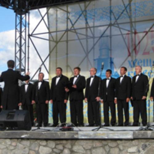 Київський чоловічий камерний хор взяв часть у фестивалі духовної музики та співу на Співочому полі