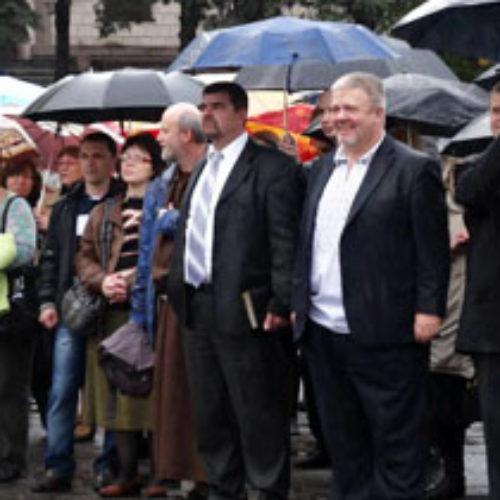 Молитовне віче в Дніпропетровську (ФОТО)