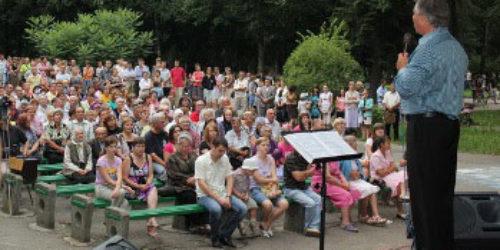Джордж Давидюк відвідав Прикарпаття