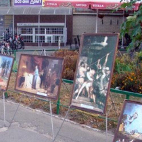 Выставка картин напомнила о важности Библии в жизни каждого человека