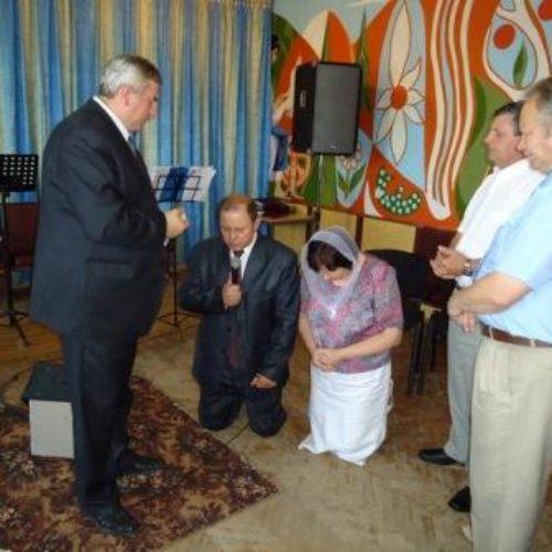 Ігора Луціва рукопоклали на пресвітерське служіння