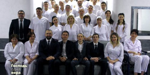 Київська церква «Скинія» відзначила День народження хрещенням та рукопокладанням