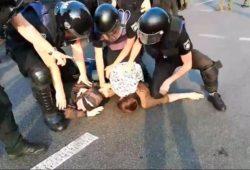 РЄПЦУ опублікувала заяву з приводу побиття поліцією учасників мирної демонстрації на захист сімейних цінностей