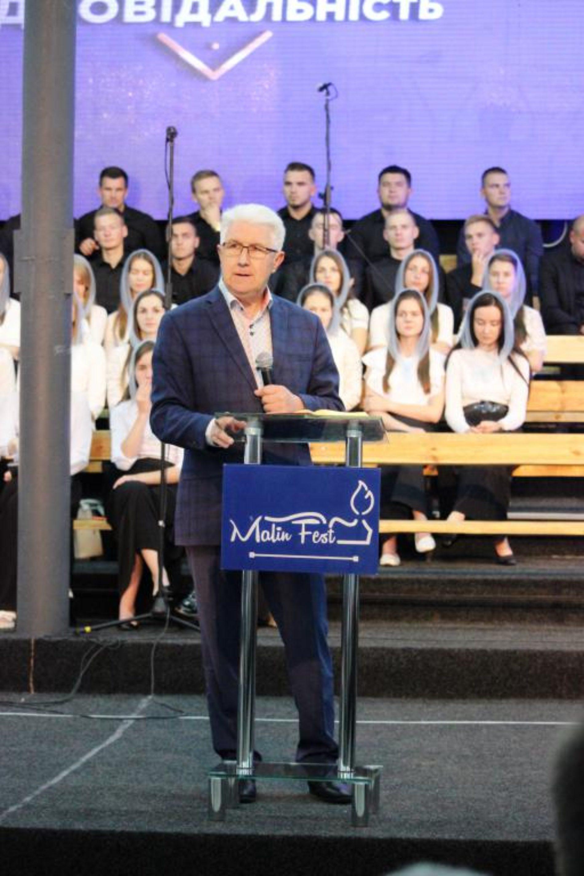Михайло Паночко: «МалинФест – це рух реформації молодих сердець»