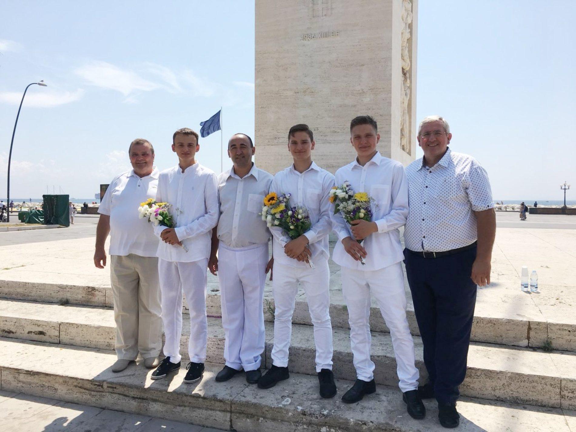 В італійському місті Неаполь поблагословили нову церковну громаду УЦХВЄ