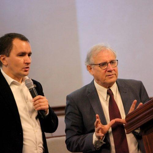 Учасники конференції «Європейські цінності в українській політиці» вчилися у минулого та планували майбутнє