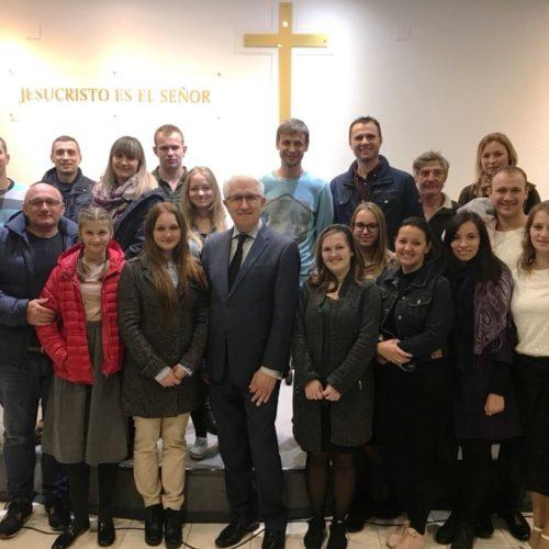 «Церкви в Іспанії динамічно ростуть, оскільки Мадридська церква дбає про заснування дочірніх громад» – Михайло Паночко