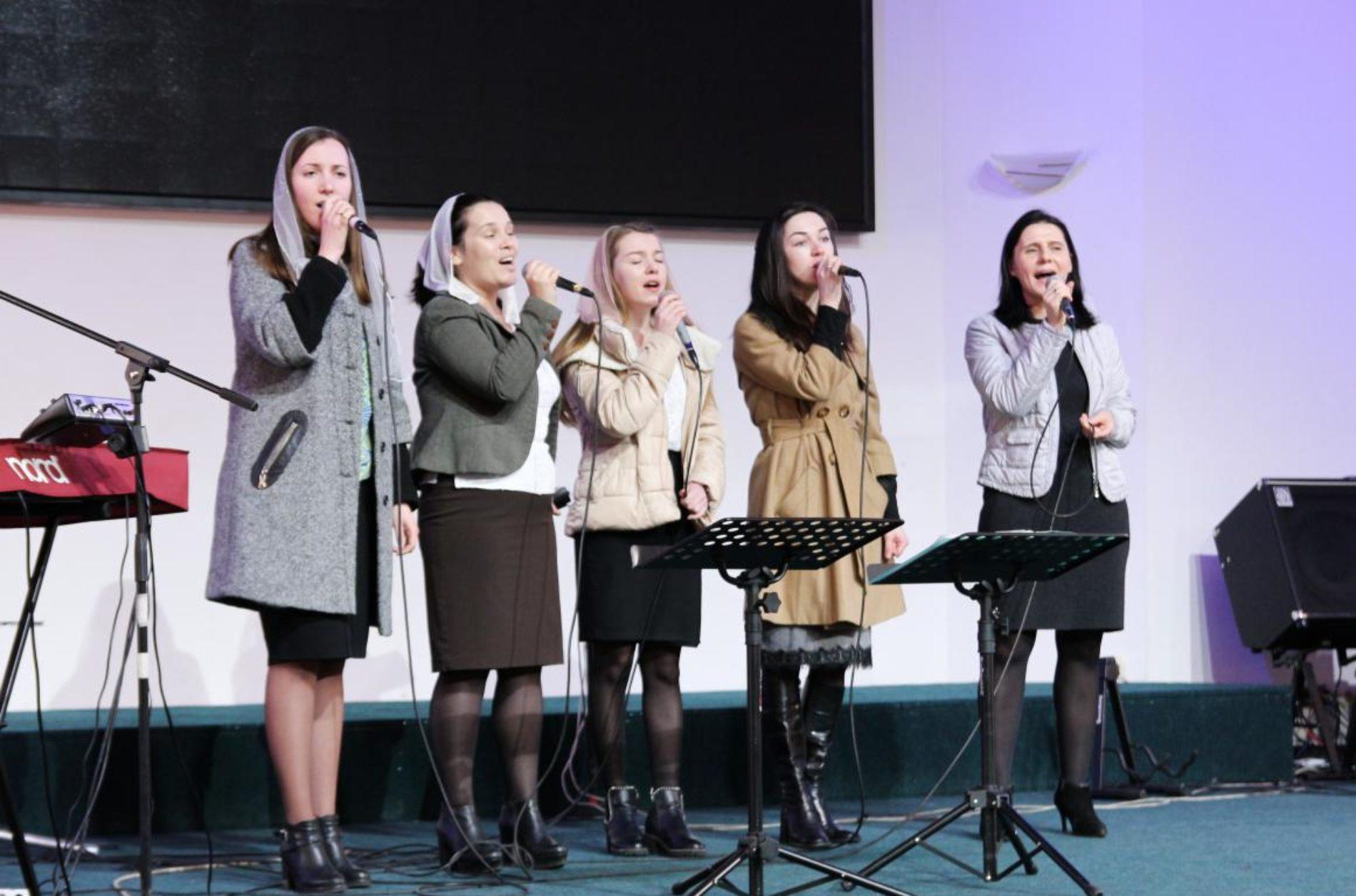 Сестри з церков Києва та області провели конференцію на тему: «Хто я?» (ФОТО)